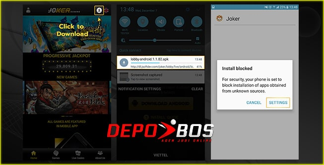 step download android FafaSlot pertama