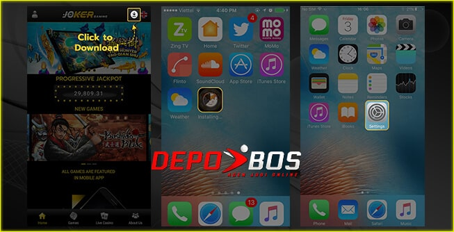 step download ios FafaSlot pertama